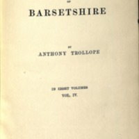 Trollope, Anthony The Chronicles of Barsetshire